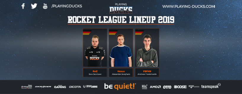 Startet die Motoren: Playing Ducks mit Rocket League Team